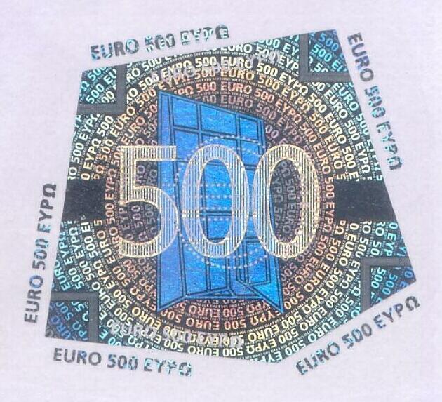 Методы защиты банкнот евро | Euro-