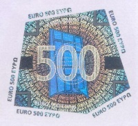 Методы защиты банкнот евро  EuroCoinsInfo