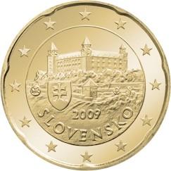 Словакия 20 центов