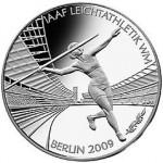 ЧМ по лёгкой атлетике в Берлине 2009, аверс