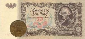 Изображение Гайдна размещалось на различных деньгах Австрии