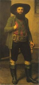 Портрет А.Хофера (сер. 19-ого в. масло, холст. Тирольский музей, Инсбрук)