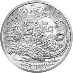 Австрия, 10 евро, Василиск в Вене, реверс