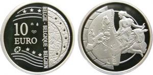 Бельгия 2004 10 евро