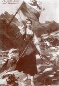 Знаменосец Тироля Джозефина Негрелли