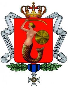Современный герб Варшавы