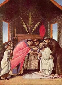 Евхаристия (Сандро Боттичелли, 1495 год)