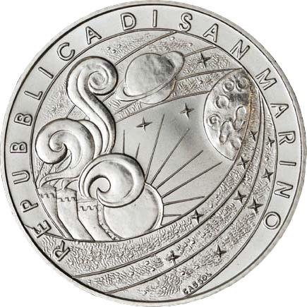 Сан-Марино 5 евро, аверс
