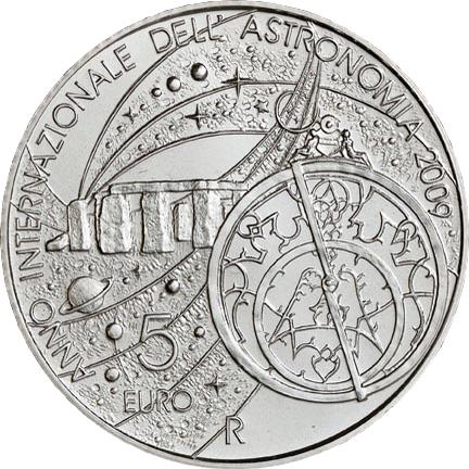 Сан-Марино 5 евро, реверс