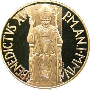 Ватикан 2005 аверс