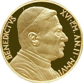 Ватикан 20 евро 2006