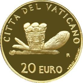 Ватикан, 20 евро, 2007