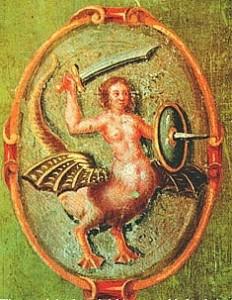 Старый символ Варшавы, изображение 1659 г.