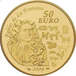 "Франция 2009. 50 евро. ""Китайский календарь"""