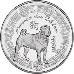 "Франция ""Китайский календарь"", 2006, реверс"