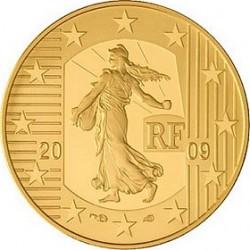 Франция, 2009, 5 евро, Европейский суд по правам человека, реверс