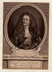 Жан де Лафонтен (гравюра, 1730)