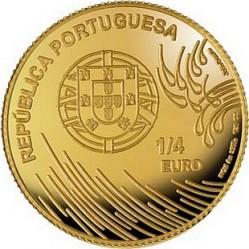 Португалия, 2009, Васко да Гама, 1/4 евро, реверс