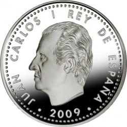 Испания, 10 евро, ЧМ по футболу-2010, аверс