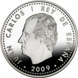 Испания, 2009 , Филипп II, 10 евро, аверс