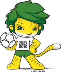 Талисман чемпионата леопард Закуми