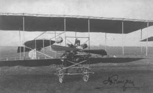 Первый успешный самолёт братьев Русян EDA I