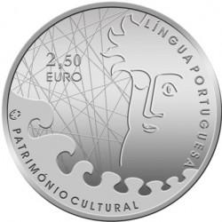 Португалия 2009, 2 1/2 евро, Португальский язык, аверс