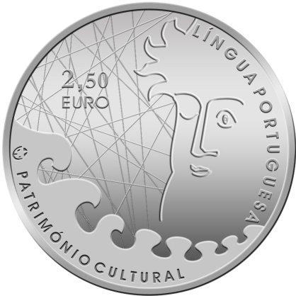 Португальский язык 2,5 евро юб монеты 2014