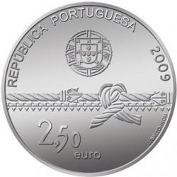 Португалия 2009, 2 1/2 евро, Башня Белен, аверс