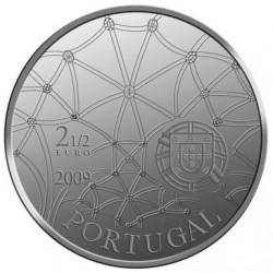 Португалия 2009, 2 1/2 евро, Монастырь иеронимитов, аверс