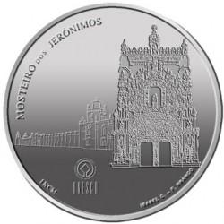 Португалия 2009, 2 1/2 евро, Монастырь иеронимитов, реверс