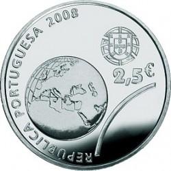 Португалия, 2008, Олимпийские игры в Пекине, 2.5 евро, аверс