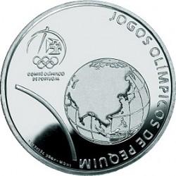 Португалия, 2008, Олимпийские игры в Пекине, 2.5 евро, реверс