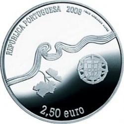 2.5 Евро, Португалия, Винодельческий регион Альто Дору, 2008, аверс