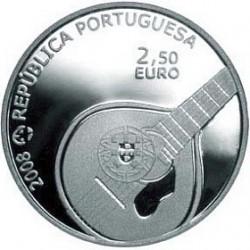 Португалия, 2008, 2.5 евро, Фадо, аверс