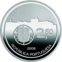 Португалия, 2.5 евро, Порту, 2008, аверс