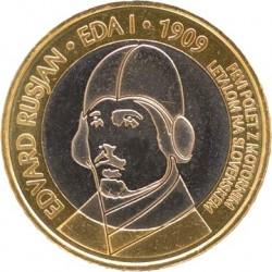 Словения, 2009, 3 евро, Edvard Rusjan, реверс