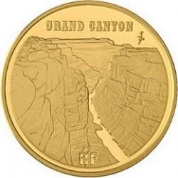 Франция, 10 евро, 2008, Большой каньон, аверс