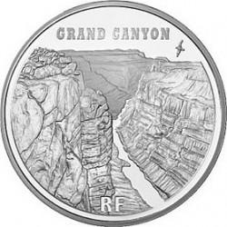 Франция, 1 1/2 евро, 2008, Большой каньон, аверс