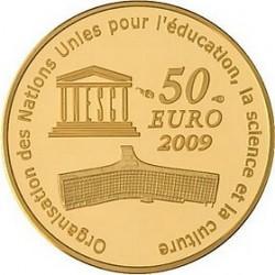 Франция, 50 евро, 2009, Московский Кремль, реверс