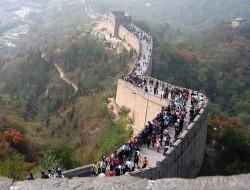 Один из реставрированных участков стены Бадалин находится в 60 км от китайской столицы и каждый турист за символическую плату в одной из башен может получить свидетельство о посещении стены.