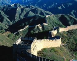 Великая Китайская стена протянулась на тысячи километров