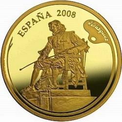 Испания, 2008, 200 евро, Веласкес, аверс