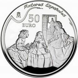 Испания, 2008, 50 евро, Веласкес, реверс