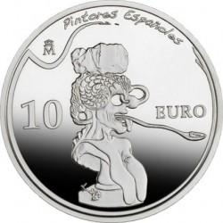 Испания, 2009, Дали, 10 евро, реверс
