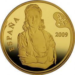 Испания, 2009, Дали, 400 евро, аверс