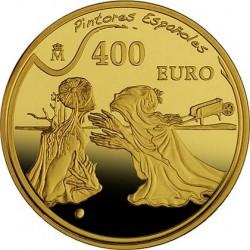 Испания, 2009, Дали, 400 евро, реверс