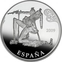 Испания, 2009, Дали, 50 евро, аверс