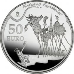 Испания, 2009, Дали, 50 евро, реверс