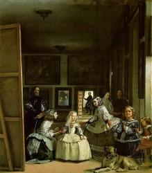 """""""Менины"""" (Фрейлины""""), Музей Прадо, 1656"""